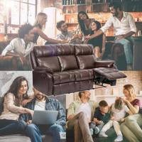 Sofa recliner couch with people having fun