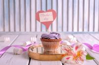 Mothers Day cupcake topper